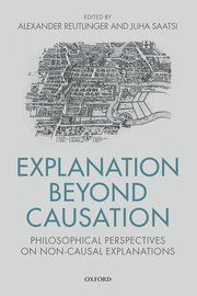 Cover for   Explanation Beyond Causation