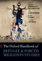 Cover for   The Oxford Handbook of Refugee and Forced Migration Studies