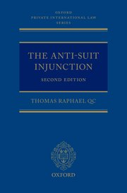 Cover for   The Anti-Suit Injunction