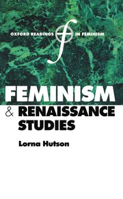 Cover for   Feminism and Renaissance Studies