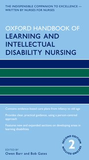 Cover for   Oxford Handbook of Learning and Intellectual Disability Nursing