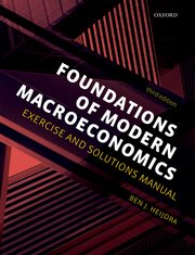 Cover for   Foundations of Modern Macroeconomics