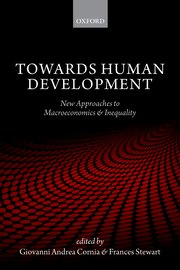 Cover for   Towards Human Development