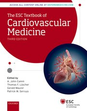 Cover for   The ESC Textbook of Cardiovascular Medicine