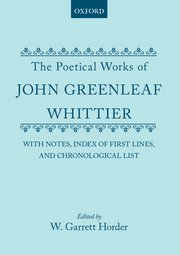 Cover for   The Poetical Works of John Greenleaf Whittier