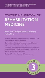 Cover for   Oxford Handbook of Rehabilitation Medicine
