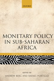 Cover for   Monetary Policy in Sub-Saharan Africa