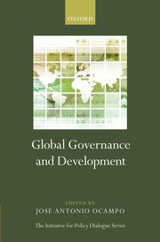 Cover for   Global Governance and Development