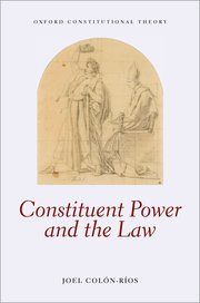 Cover for   Constituent Power and the Law