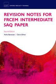 Cover for   Revision Notes for the FRCEM Intermediate SAQ Paper