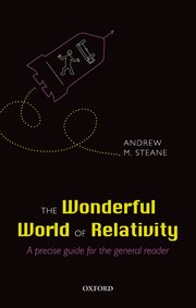 Cover for   The Wonderful World of Relativity