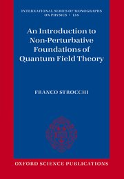 Cover for   An Introduction to Non-Perturbative Foundations of Quantum Field Theory