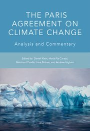 Cover for   The Paris Agreement on Climate Change