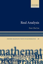 Cover for   Real Analysis