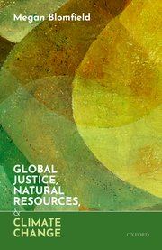 Cover for   Global Justice, Natural Resources, and Climate Change