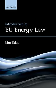 Cover for   Introduction to EU Energy Law