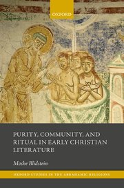 Cover for   Purity, Community, and Ritual in Early Christian Literature
