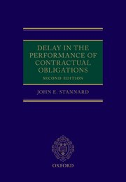 Cover for   Delay in the Performance of Contractual Obligations