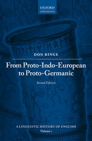 Cover for   From Proto-Indo-European to Proto-Germanic