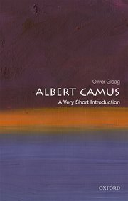Cover for   Albert Camus: A Very Short Introduction