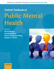 Cover for   Oxford Textbook of Public Mental Health