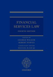 Cover for   Financial Services Law