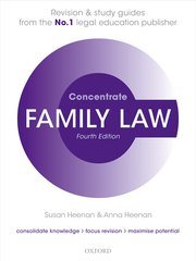 Cover for   Family Law Concentrate