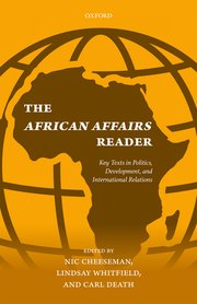 Cover for   The African Affairs Reader