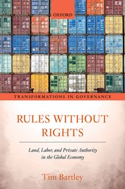 Cover for   Rules without Rights