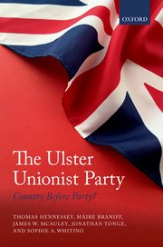 Cover for   The Ulster Unionist Party