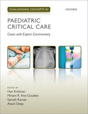 Cover for   Challenging Concepts in Paediatric Critical Care