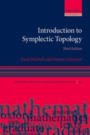 Cover for   Introduction to Symplectic Topology