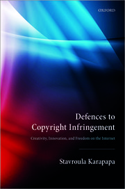 Cover for   Defences to Copyright Infringement