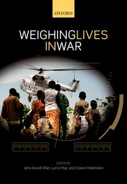 Cover for   Weighing Lives in War