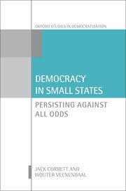 Cover for   Democracy in Small States