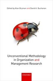 Cover for   Unconventional Methodology in Organization and Management Research