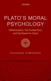Cover for   Platos Moral Psychology