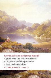 Cover for   A Journey to the Western Islands of Scotland and the Journal of a Tour to the Hebrides