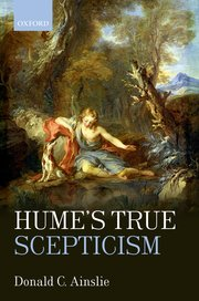Cover for   Humes True Scepticism