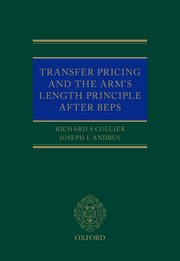 Cover for   Transfer Pricing and the Arms Length Principle After BEPS