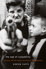 Cover for   The Age of Culpability