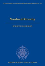 Cover for   Nonlocal Gravity