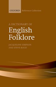 Cover for   A Dictionary of English Folklore
