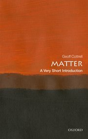 Cover for   Matter: A Very Short Introduction