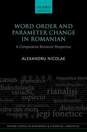 Cover for   Word Order and Parameter Change in Romanian