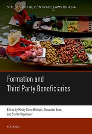 Cover for   Formation and Third Party Beneficiaries