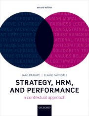 Cover for   Strategy, HRM, and Performance