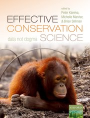 Cover for   Effective Conservation Science
