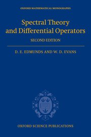Cover for   Spectral Theory and Differential Operators
