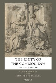 Cover for   The Unity of the Common Law